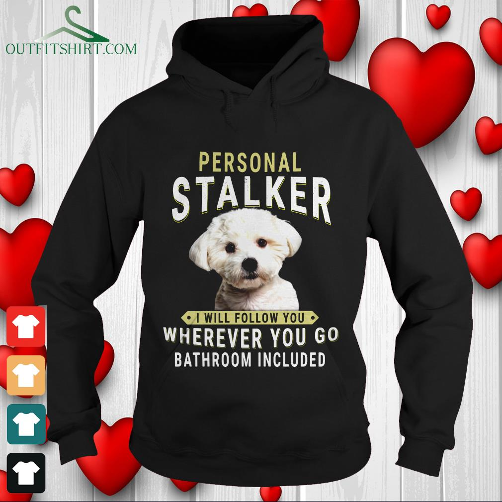 dachshund personal talker i will follow you wherever you go bathroom included sweater