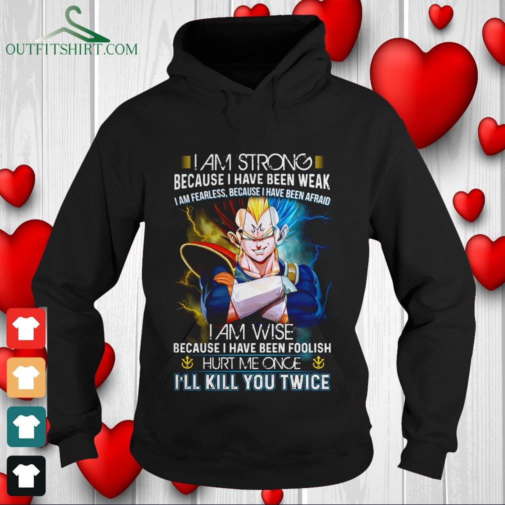i am strong because i have been weak fearless because ive been afraid sweater