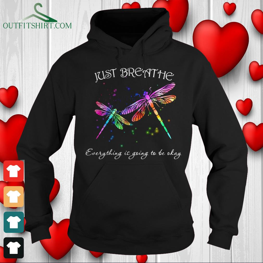 just breathe everything is going to be okay sweater