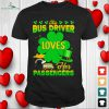 lucky charms bus driver loves her passengers t shirt