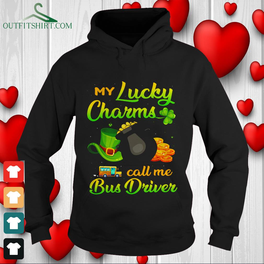 my lucky charms call me bus driver sweater