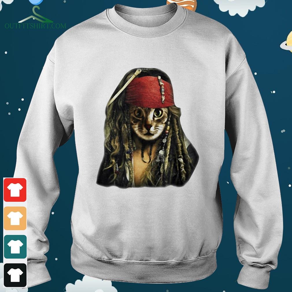 pirate cat pirates of the caribbean hoodie