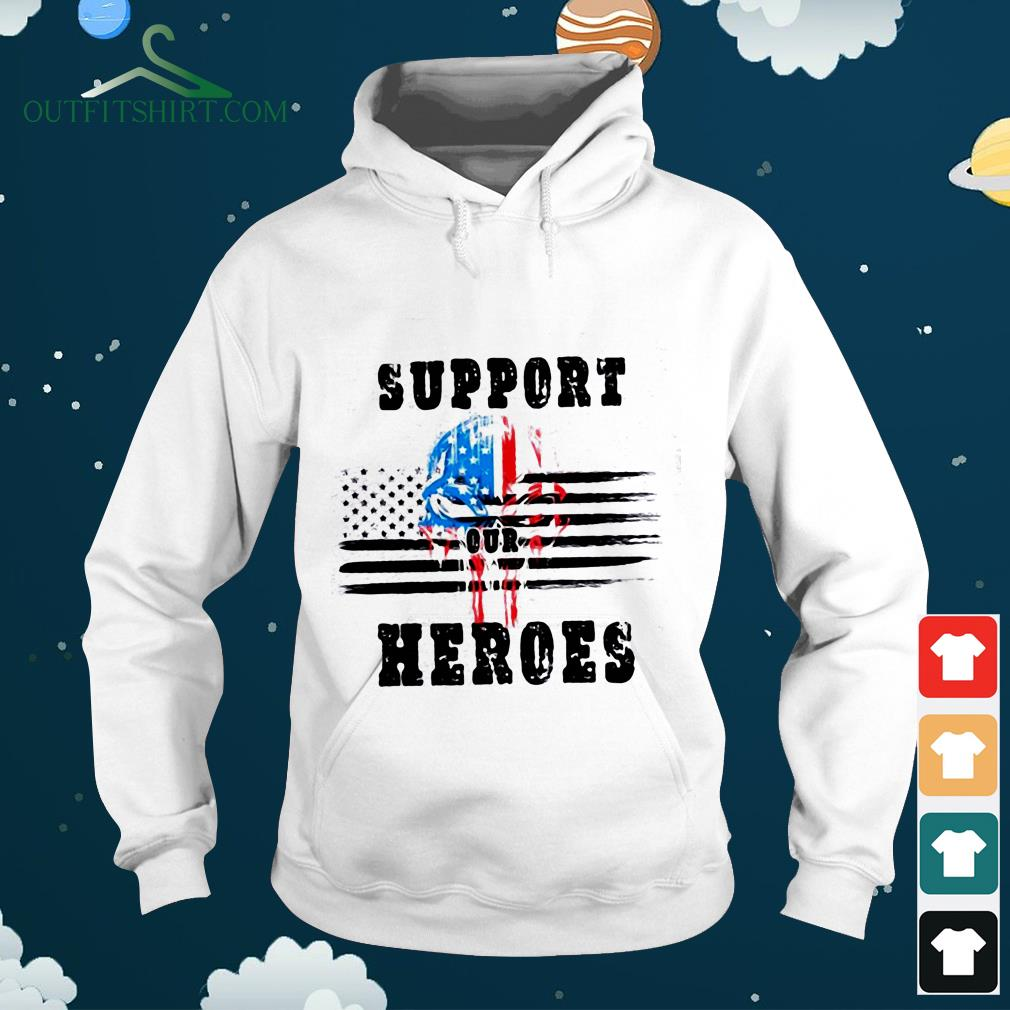 support out heroes sweater