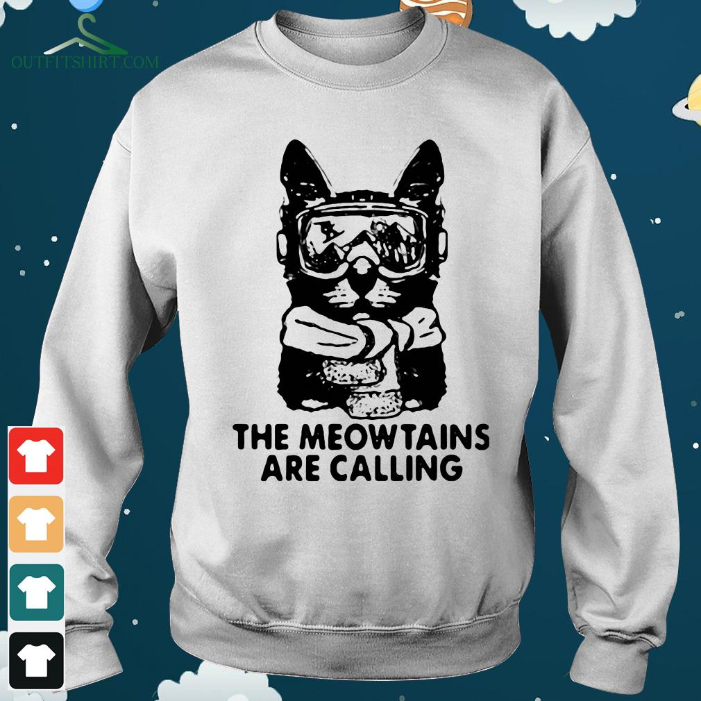 the mewtains are calling hoodie