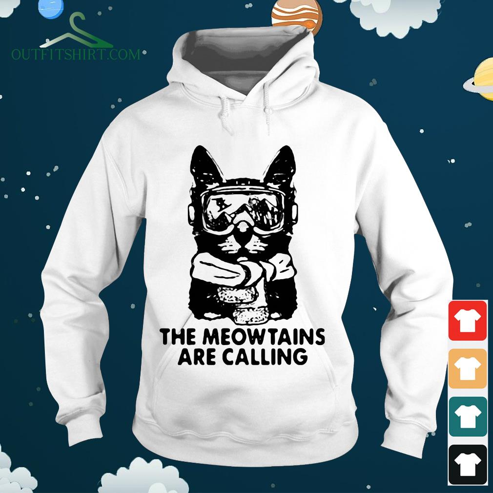 the mewtains are calling sweater