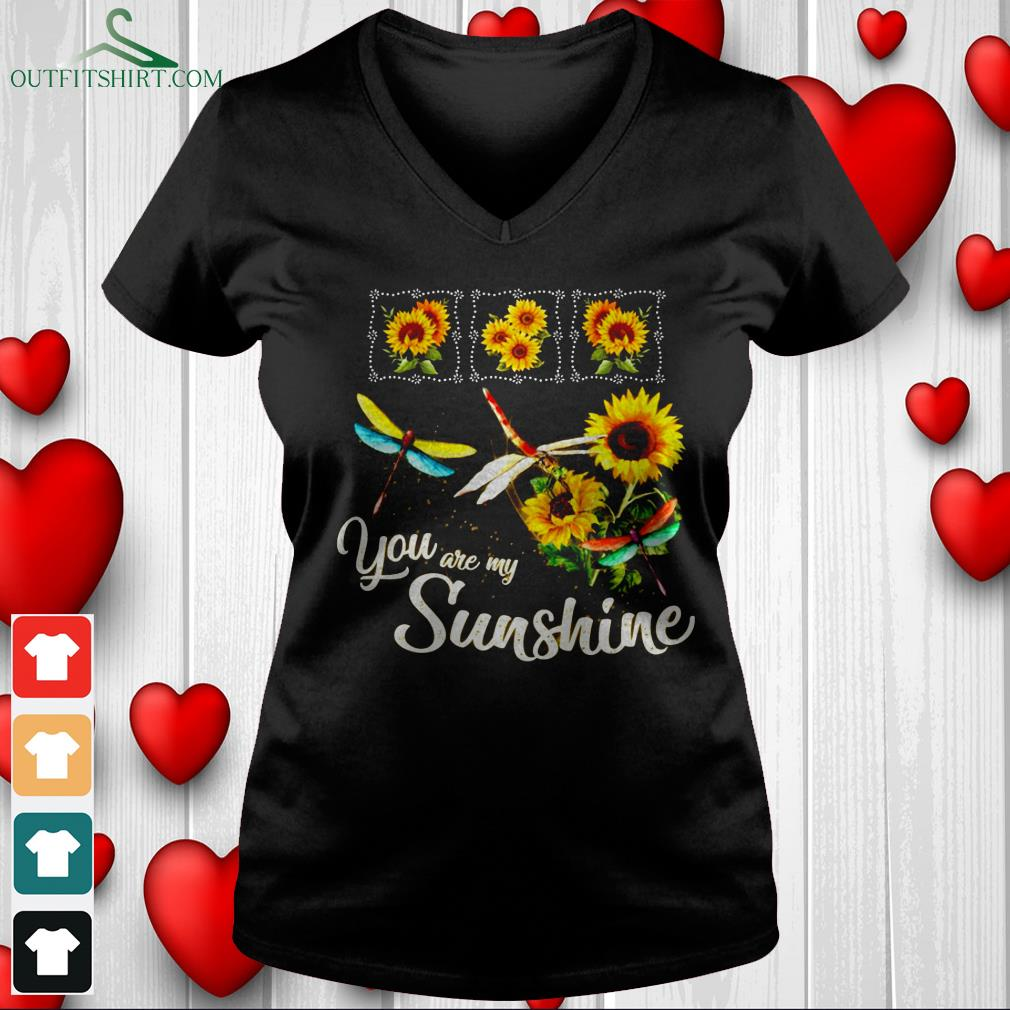 you are my sunshinev neck t shirt