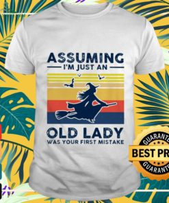 Assuming I'm just an old lady vintage shirt