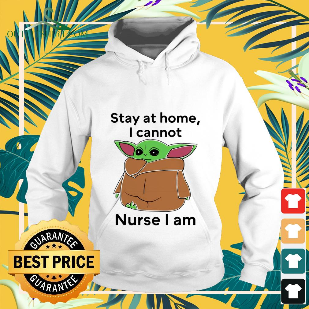 baby yoda stay at home i cannot nurse i am Hoodie