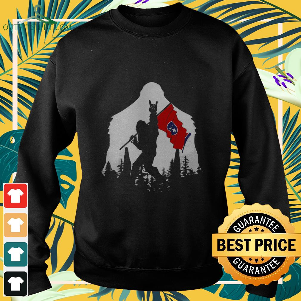 bigfoot rock and roll tennessee in the forest Sweater