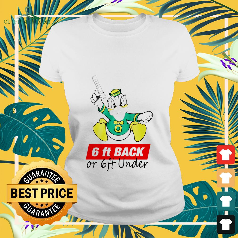 donald 6 ft back or 6 ft under Ladies tee