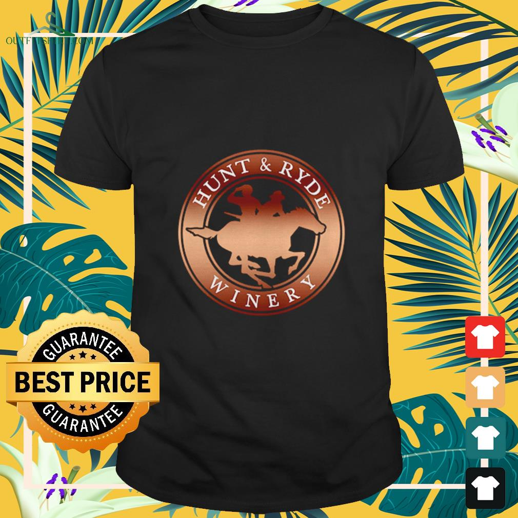 hunt and ryde winery T shirt