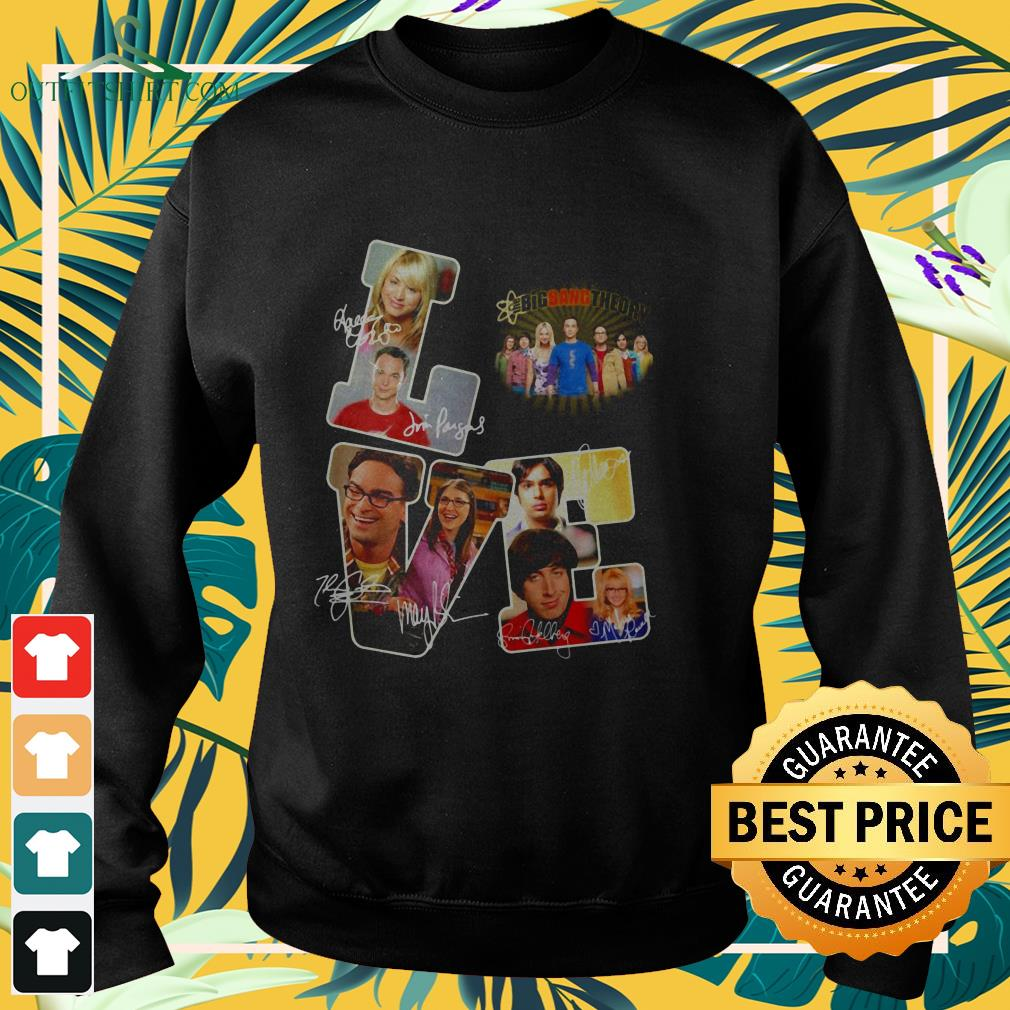 love the big bang theory tv show signature sweater