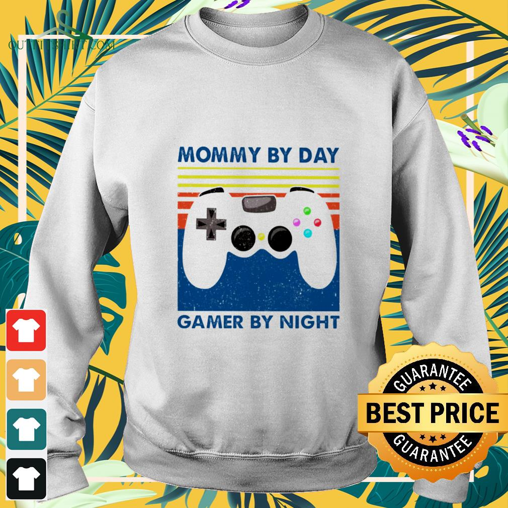 mommy by day gamer by night vintage sweater