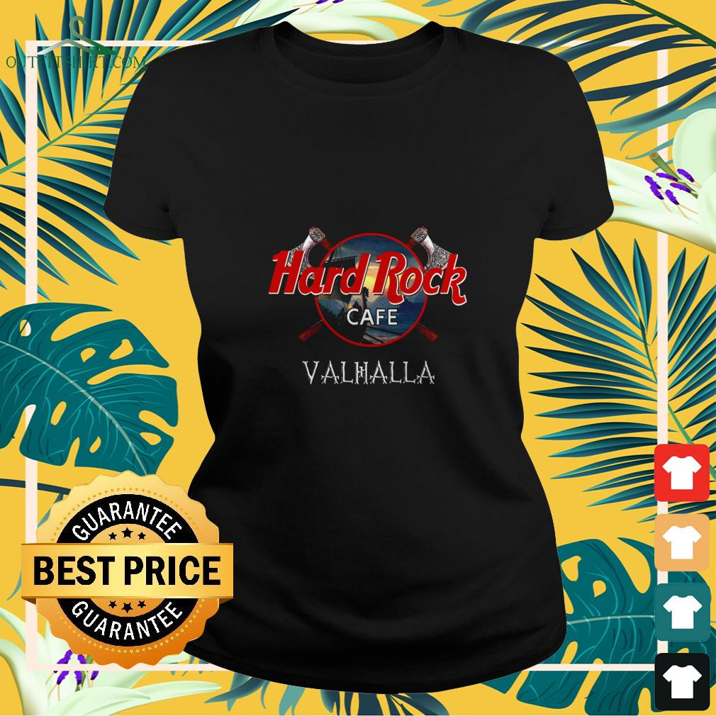 official hard rock cafe valhalla Ladies tee