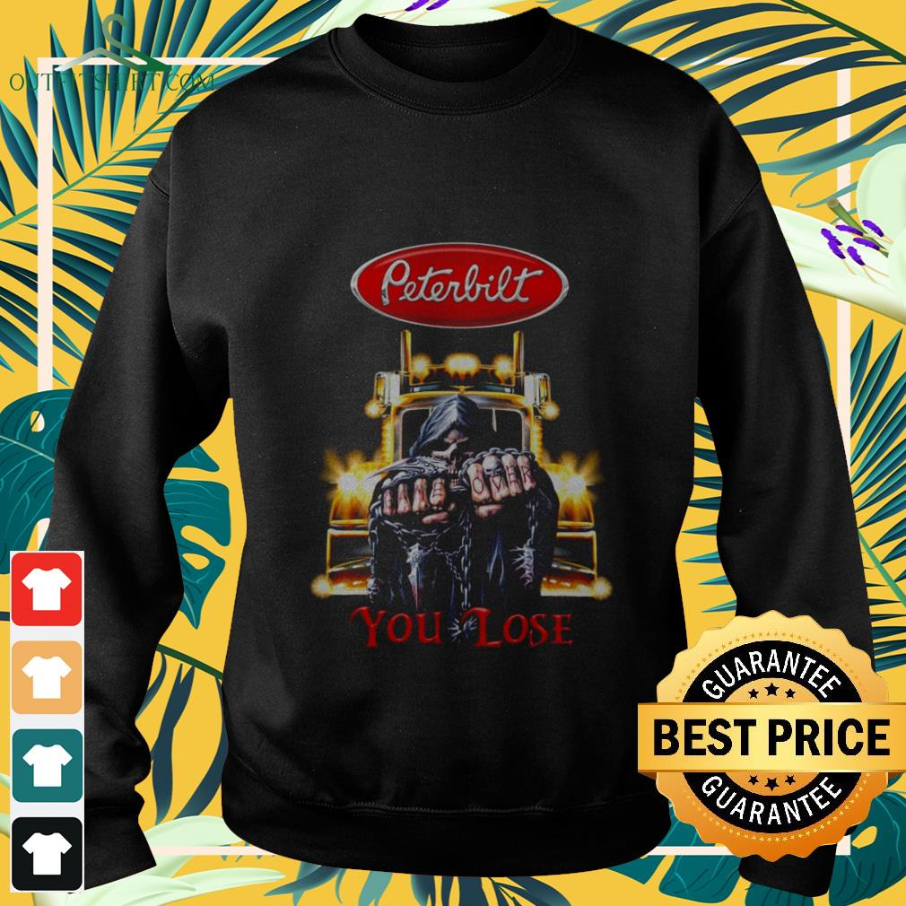 peterbilt truck game over you lose Sweater