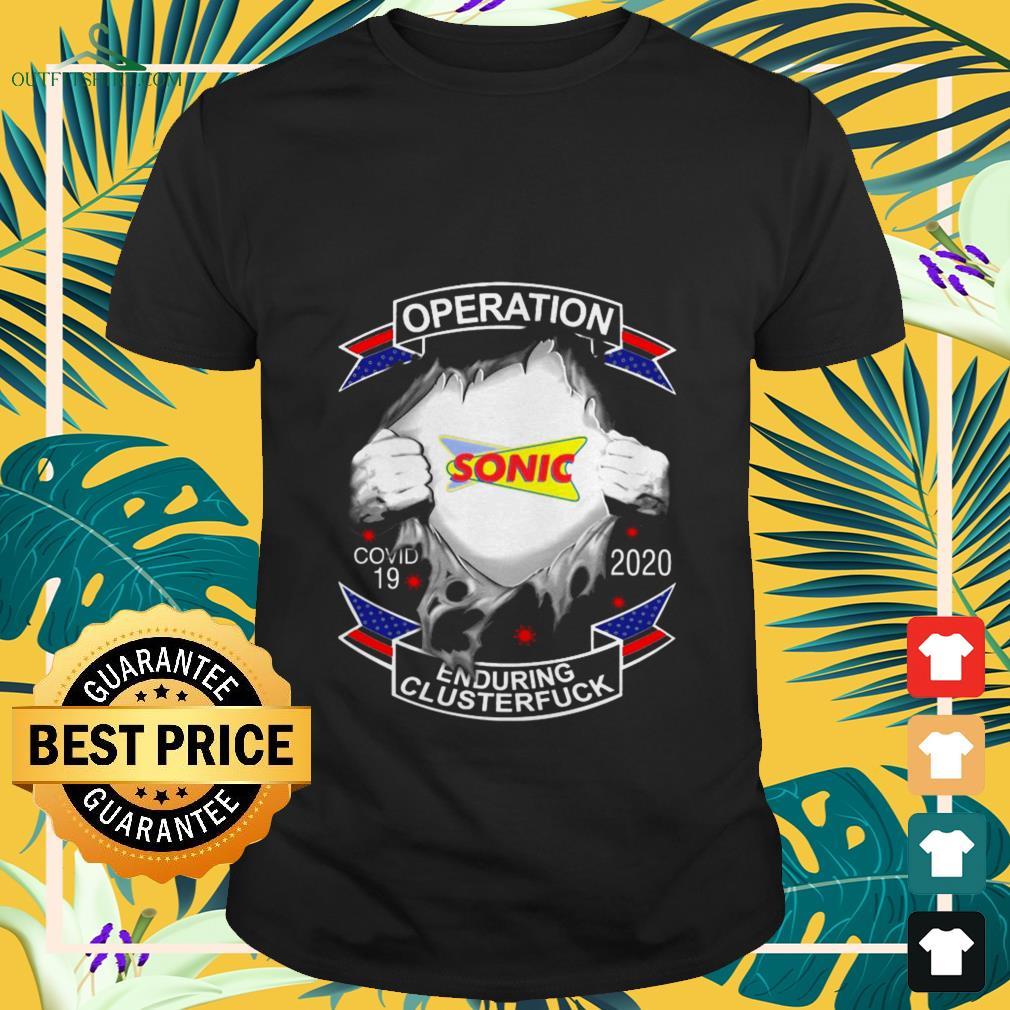 sonic operation covid 19 enduring clusterfuck T shirt