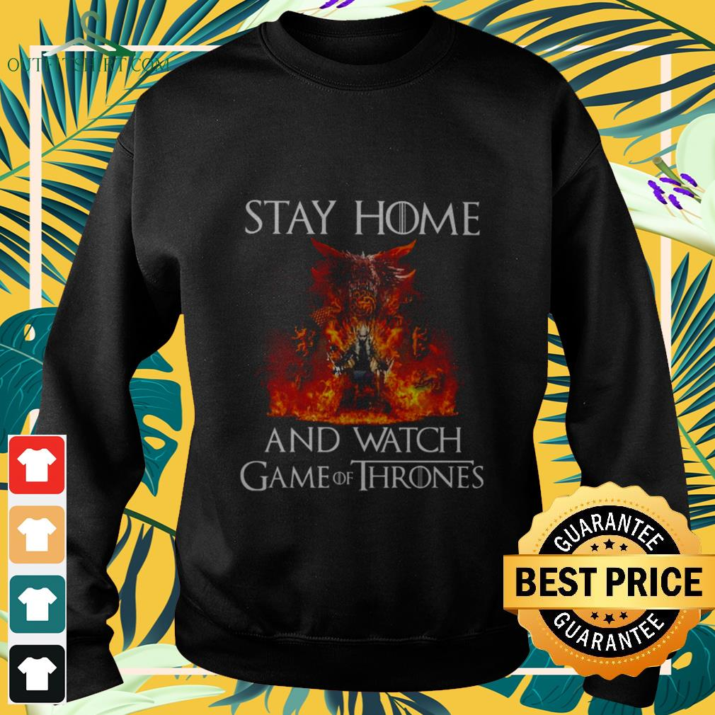 stay at home and watch game of thrones Sweater