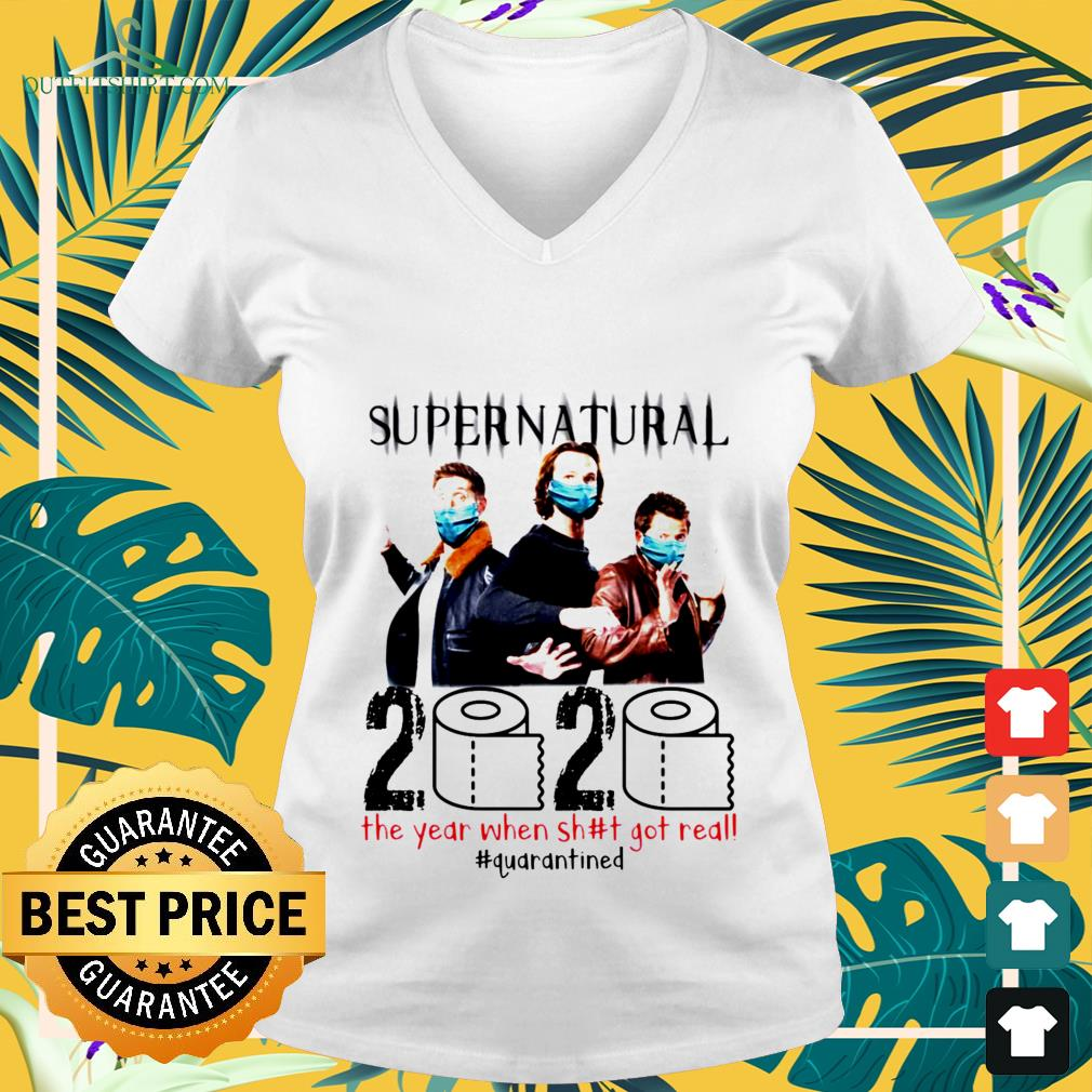 Supernatural 2020 Got Quarantined Shirt President Shirt