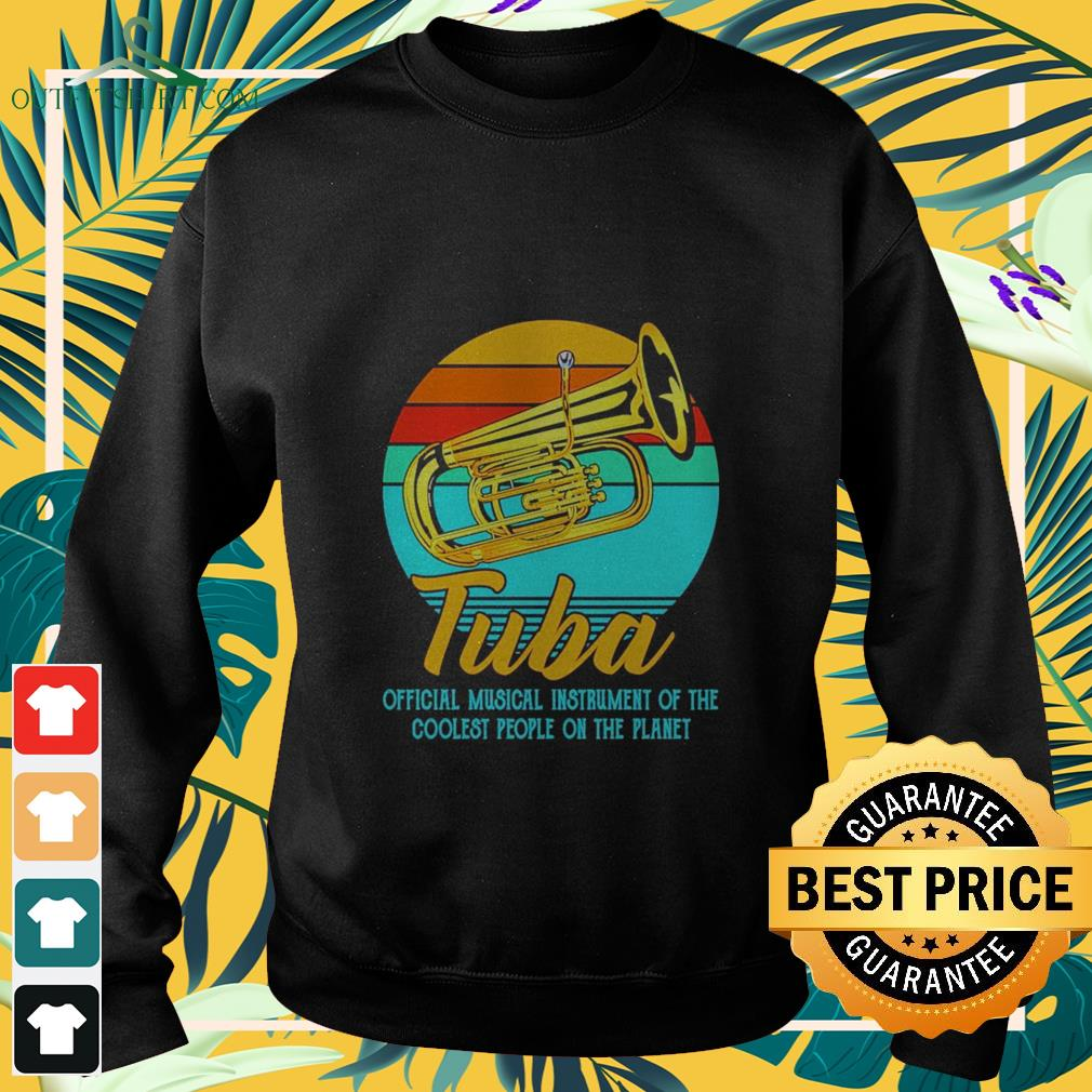 tuba official musical instrument of the coolest people on the planet vintage Sweater