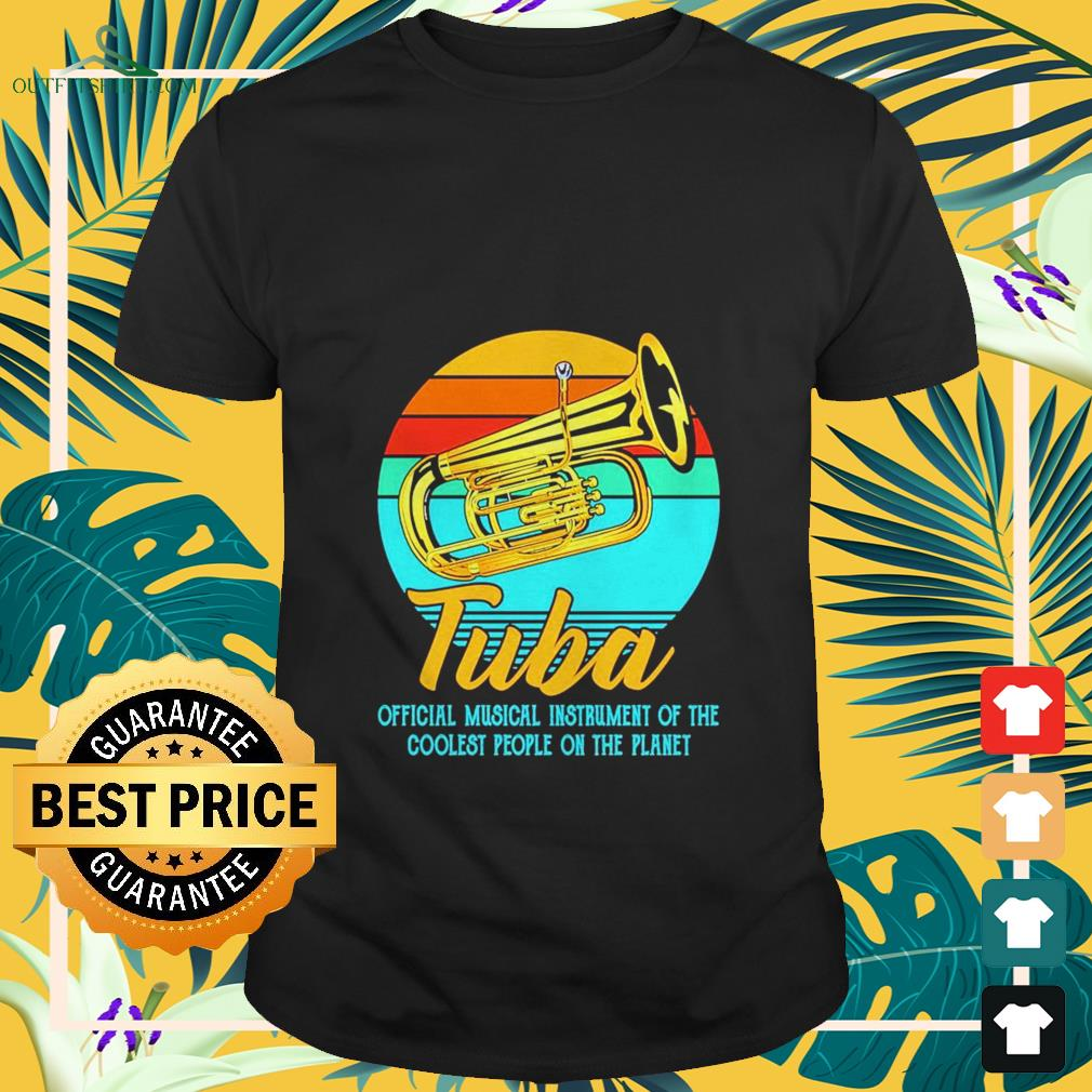 tuba official musical instrument of the coolest people on the planet vintage T shirt
