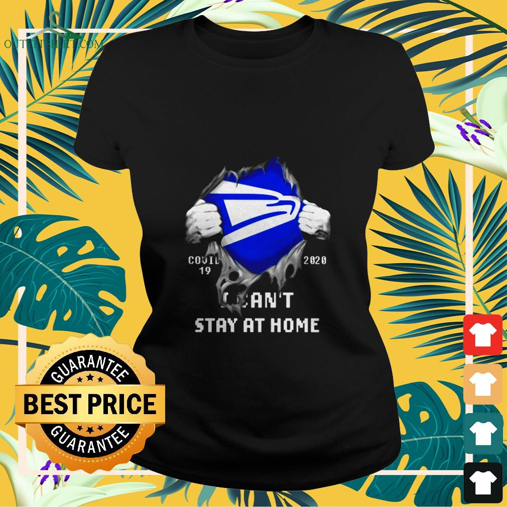 united states postal i cant stay at home covid 19 2020 Ladies tee