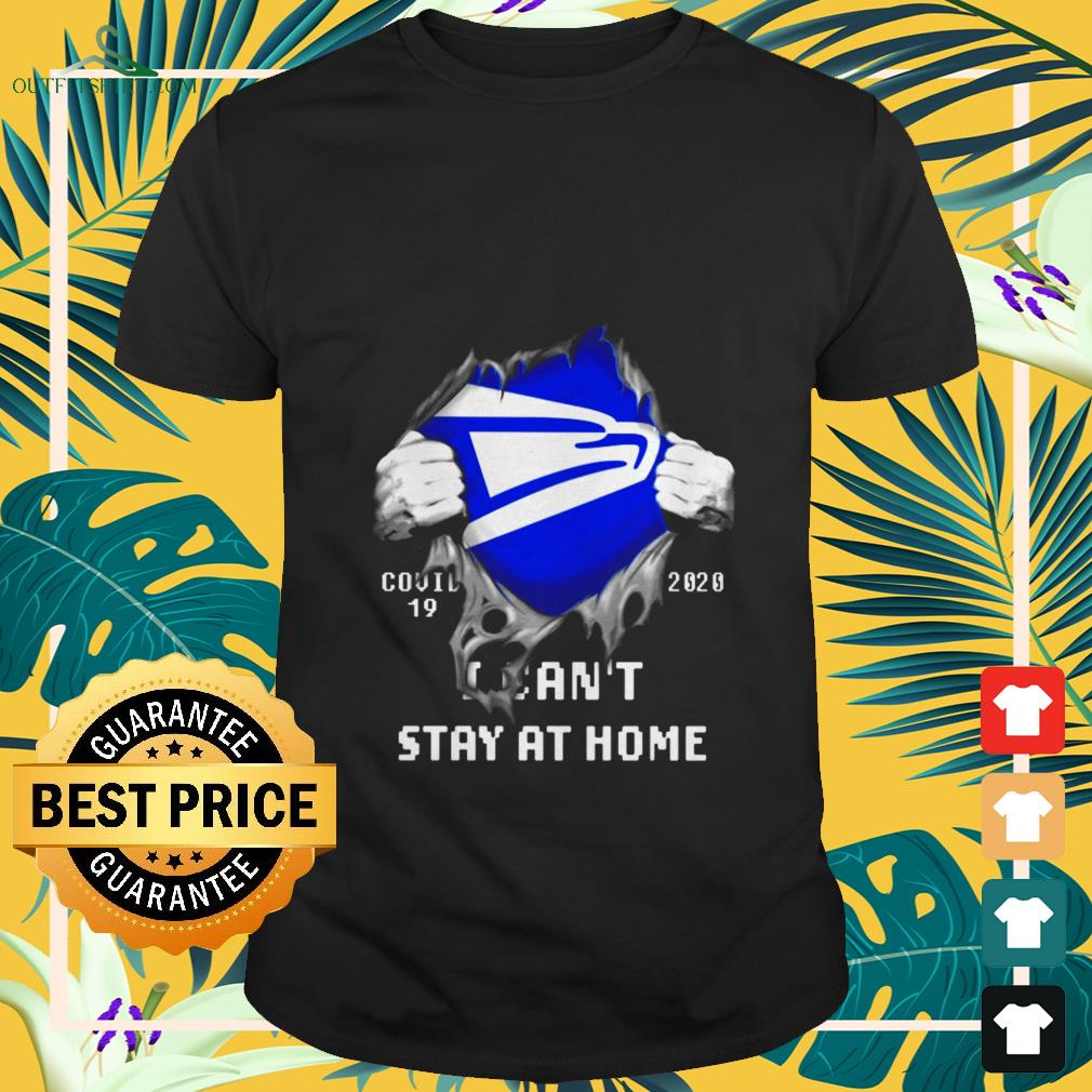 united states postal i cant stay at home covid 19 2020 T shirt