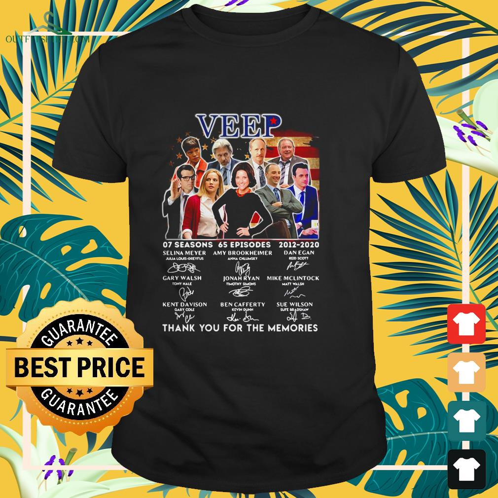 veep movies tv years of 2012 2020 selina meyer signature thank you for the memories t shirt
