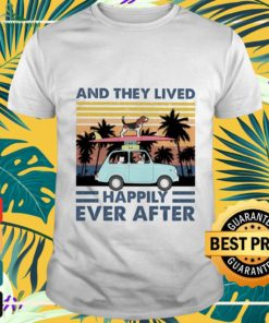 And they lived happily ever after vintage dog shirt