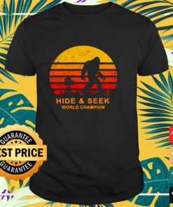 Bigfoot and Snoopy hide and seek world champion vintage shirt