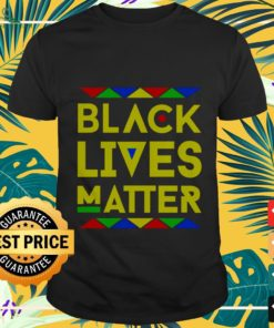 Black lives matter equality black pride melanin shirt