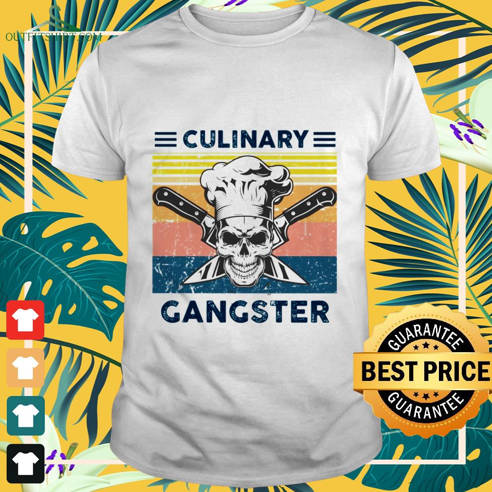 Culinary gangster vintage shirt