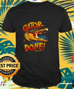 Gator-Crocodile Done swamp people shirt