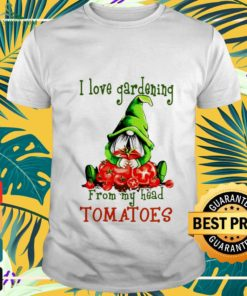 Gnomes I love gardening shirt