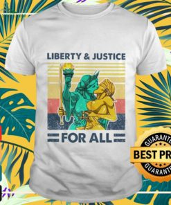 Liberty and justice for all vintage shirt