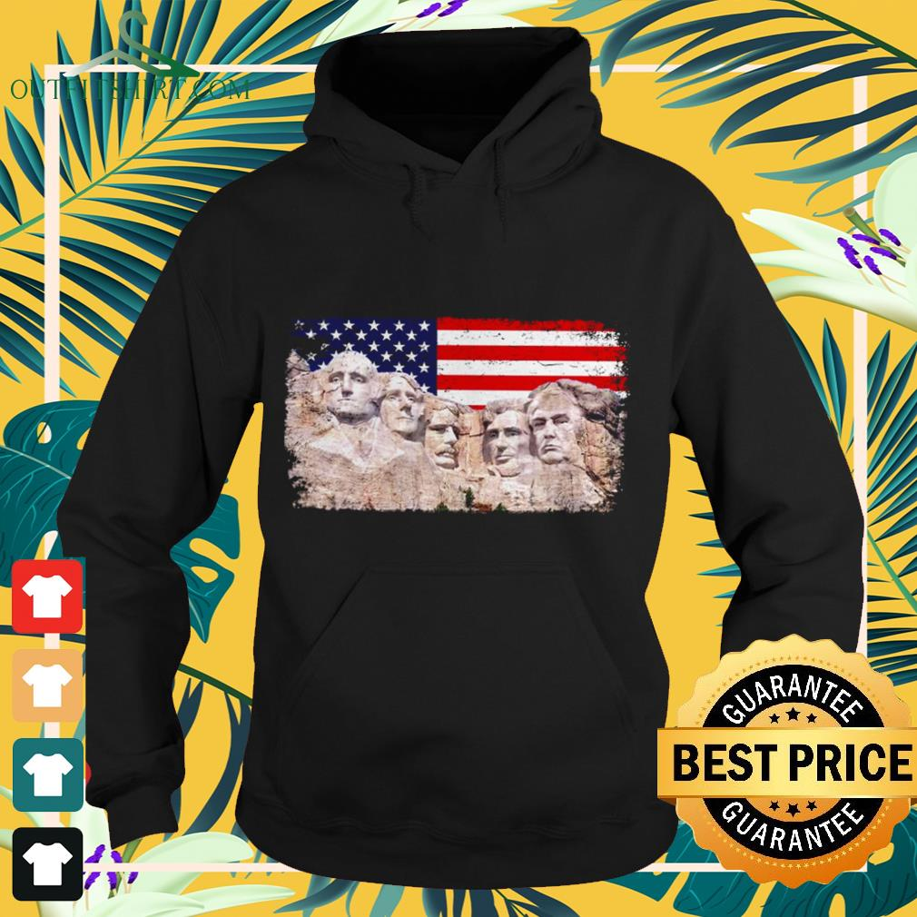 45th added to Rushmore mount Hoodie