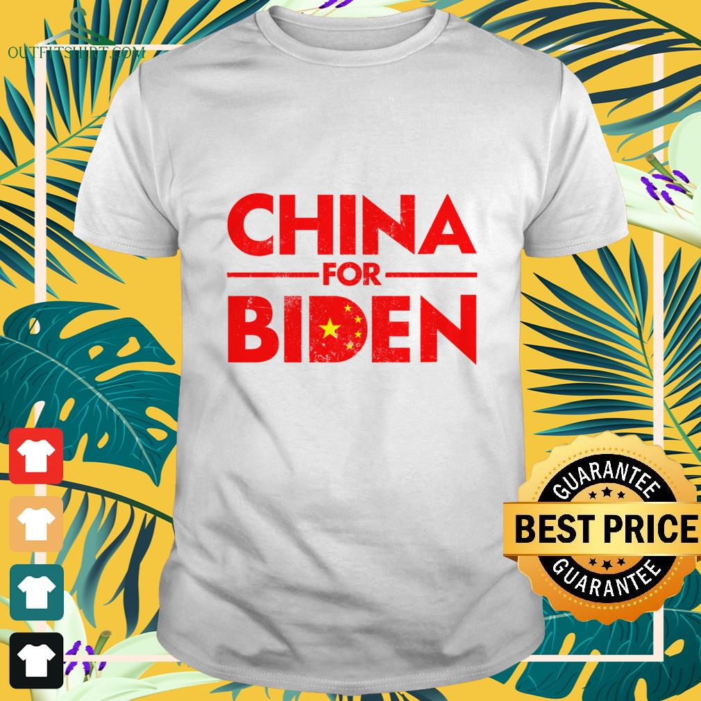 China for Biden shirt