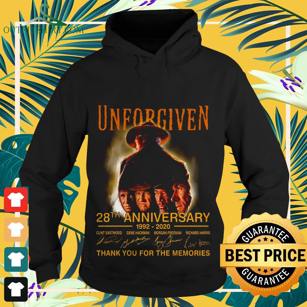 Unforgiven 28th anniversary 1992 2020 thank you for the memories Hoodie