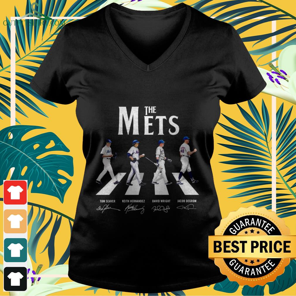 The mets abbey road signature V-neck t-shirt