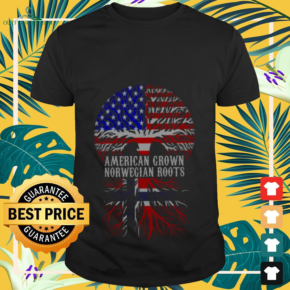American Grown With Norwegian Roots shirt