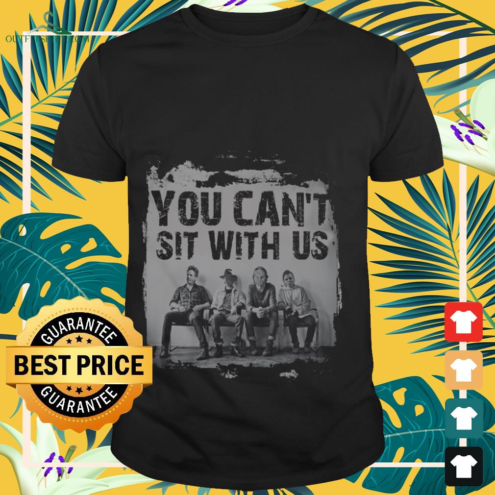Halloween horror characters you can't sit with us shirt