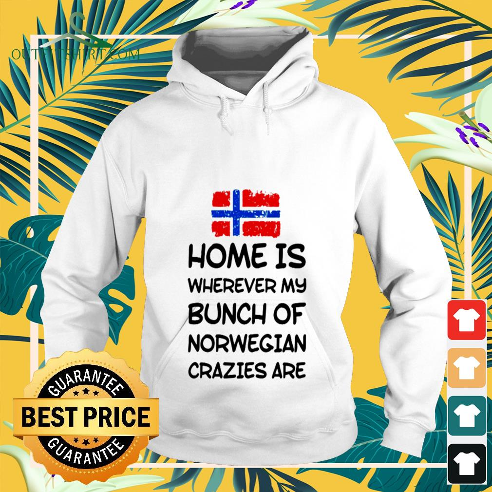 Home is wherever my bunch of Norwegian crazies are Hoodie