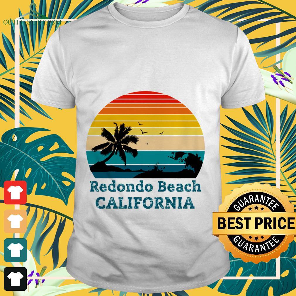 Redondo Beach California vintage shirt
