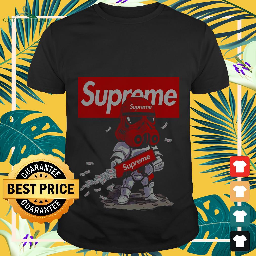 STAR WARS STORMTROOPER AND SUPREME SHIRT