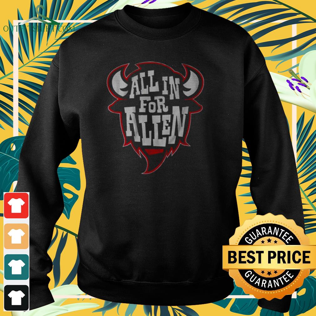 All in for allen sweater