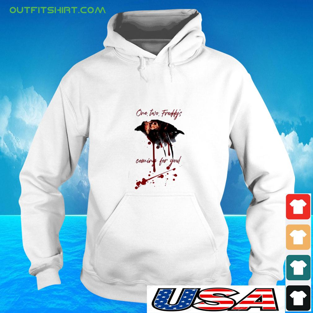 Freddy Krueger one two freddy's coming for you halloween hoodie
