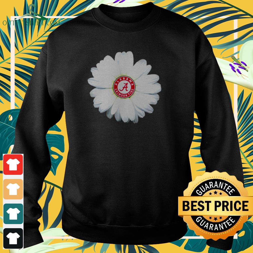 Georgia Bulldogs daisy flower sweater