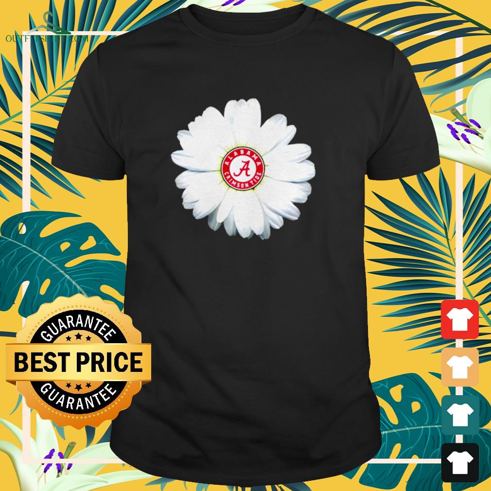Georgia Bulldogs daisy flower t-shirt