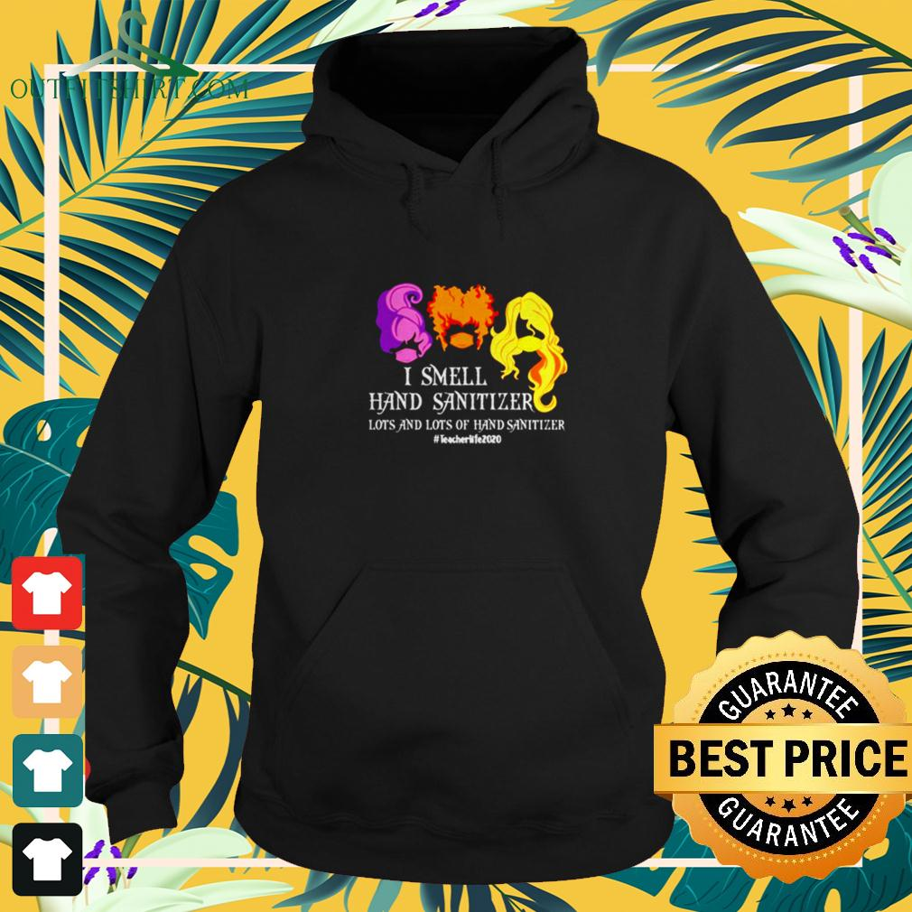 Hocus Pocus I smell hand sanitizer lots and lots of hand sanitizer hoodie