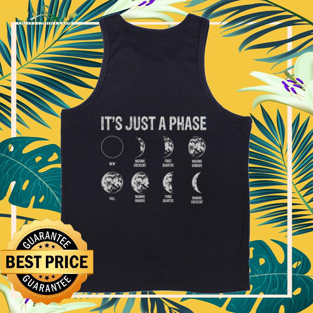 It's Just A Phase Moon tanktop