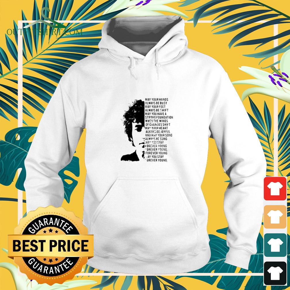 Jimi Hendrix May Your Hands Always Be Busy May Your Feet Always Be Swift May You Have A Strong Foundation hoodie